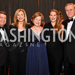 Photo by Tony Powell. Calvin and Jane Cafritz. Elizabeth, Kirsten, and Jan Lodal. Charity Works Dream Ball. National Building Museum. October 2, 2010