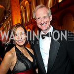 Photo by Tony Powell. Michele Seiver and Jack Evans. Charity Works Dream Ball. National Building Museum. October 2, 2010