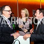 Photo by Tony Powell. Nigel and Bobbi Ballard, Michael Quint. Fed Talks 2010. Harman Center. October 12, 2010