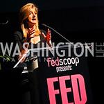 Photo by Tony Powell. Arianna Huffington. Fed Talks 2010. Harman Center. October 12, 2010