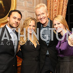 Photo by Alfredo Flores. Rick Fichter Monica Pampell Rick Rickerstein Julie Chase  . An International Evening of Excellence In Honor of Global Kids in D.C. at the Residence of the French Amb ...