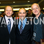 Photo by Tony Powell. Mark Ein, Carlos Silvia, Tom Hipkins. WTT VIP Reception with Elton John. Bender Arena. November 15, 2010