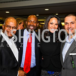 Photo by Tony Powell. Riley Temple, Eric Richardson, Dana Lee, Chris Tavlarides. WTT VIP Reception with Elton John. Bender Arena. November 15, 2010