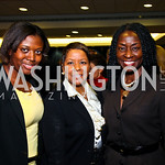 Photo by Tony Powell. Samantha Abrams, Thomasa Burton, Rynthia Rost. WTT VIP Reception with Elton John. Bender Arena. November 15, 2010