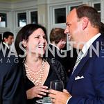 Photo by Tony Powell. Berna Diehl, Phil Simonides. Wings of Hope Gala. Trump Golf Club. November 6, 2010