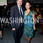 Steve Rochlin, Christina Sevilla. Photo by Tony Powell. AFI Silverdocs Opening Night Gala. Newseum. June 19, 2013