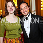 Katherine Stirling, Nicholas Ma. Kennedy Center Spring Gala. Photo by Tony Powell. April 3, 2011
