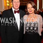 English Amb. Sir Nigel Sheinwald and Lady Julia Sheinwald. Kennedy Center Spring Gala. Photo by Tony Powell. April 3, 2011