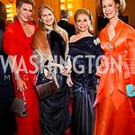 Nancy Brinker, Alice Rubenstein, Wilma Bernstein, Bonnie McElveen-Hunter. Kennedy Center Spring Gala. Photo by Tony Powell. April 3, 2011