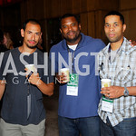 Anthony Bari,Christopher Grayton,Tchad Moore,ESPN Party at SilverDocs,June 24,2011,Kyle Samperton
