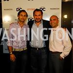 Omar Popal,Karim Chrobog,Mustafa Popal,Events DC Launch Event At SAX Restaurant,June 22,2011,Kyle Samperton