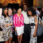 Shamia Holloway, Lynn Brantley, Jana Robinson, Keith Mitchell, Travara Mitchell, Grand Opening of Harth Restaurant, April 27, 2011, Kyle Samperton