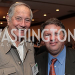 Jim Fowler, John Arundel. National Wildlife Federation's 75th Anniversary Gala honoring Robert Redford at Hyatt Regency Capital Hill. Photo by Alfredo Flores. April 13, 2011.