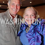 Jim Fower, Betsey Fowler. National Wildlife Federation's 75th Anniversary Gala honoring Robert Redford at Hyatt Regency Capital Hill. Photo by Alfredo Flores. April 13, 2011.