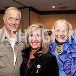 Jim Fower, Elizabeth Von Hassell, Betsey Fowler. National Wildlife Federation's 75th Anniversary Gala honoring Robert Redford at Hyatt Regency Capital Hill. Photo by Alfredo Flores. April  ...