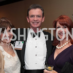 Susie Cooper, Drew Carroll, Ellen Carroll. National Wildlife Federation's 75th Anniversary Gala honoring Robert Redford at Hyatt Regency Capital Hill. Photo by Alfredo Flores. April 13, 20 ...