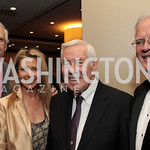 Chevy Chase, Jayni Chase, Larry Schweiger. National Wildlife Federation's 75th Anniversary Gala honoring Robert Redford at Hyatt Regency Capital Hill. Photo by Alfredo Flores. April 13, 20 ...
