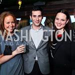 Elizabeth Spencer, Christopher Boutlier, Kristy Byrd. Nigel Barker Book Party. Photo by Tony Powell. Eden. February 24, 2011