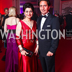 Shamim and Said Jawad. Photo by Tony Powell. Opera Ball. Embassy of China. May 7, 2011
