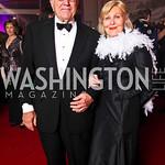 Charles and Evelyn DiBona. Photo by Tony Powell. Opera Ball. Embassy of China. May 7, 2011