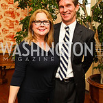 Judge Debra Carnahan, Cameron Griffith. VIP reception for Relais & Chateaux Hotels. Photo by Tony Powell. French Ambassador's residence. March 28, 2011