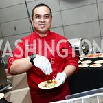 Embassy of Indonesia Chef Galih Kunto Baskoro. Photo by Tony Powell. 2015 Embassy Chef Challenge. Reagan Building. May 20, 2015