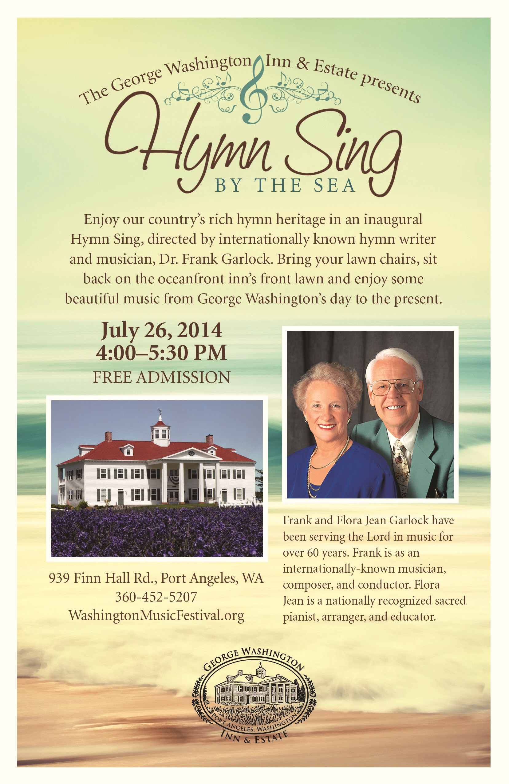 Hymn Sing By The Sea – Washington Music Festival
