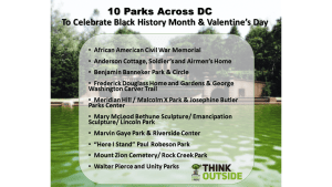 Celebrate Black History Month in the park!