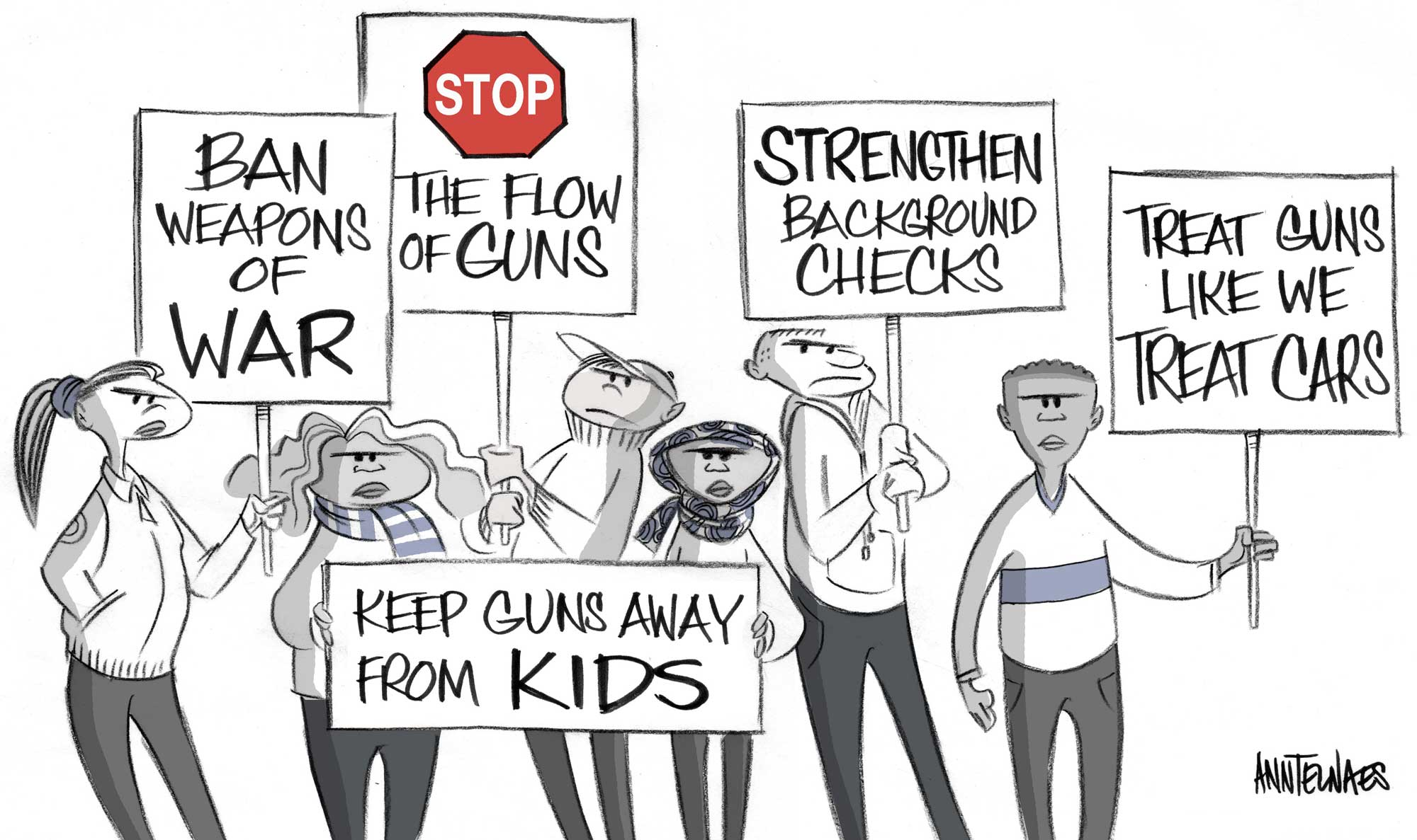 Gun control that works — here are policies lawmakers