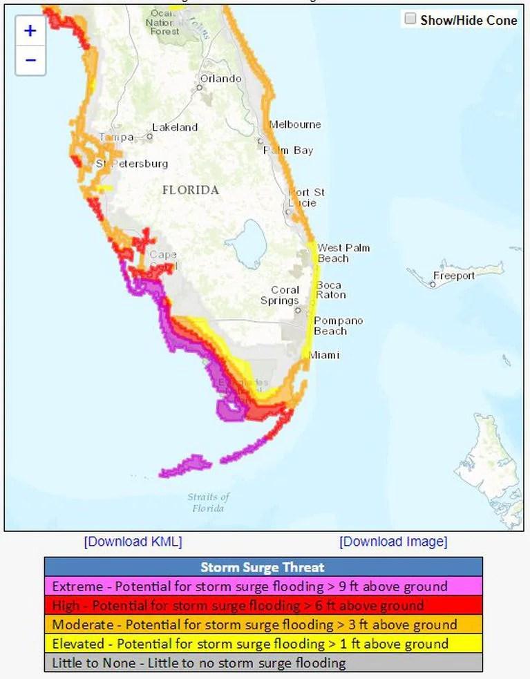 Storm Surge Map Naples Fl : storm, surge, naples, Naples, Florida, Storm, Surge, Maping, Resources
