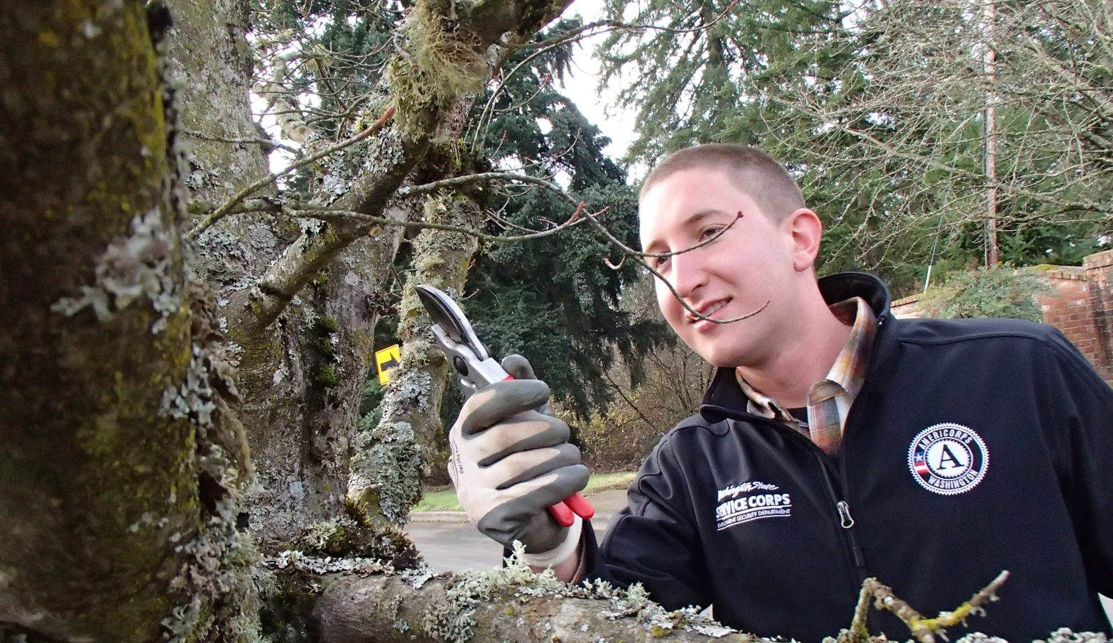 Reggie serving with the City of Vancouver Urban Forestry