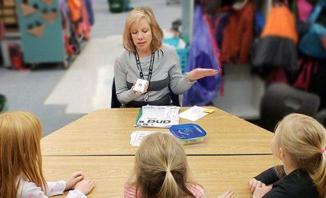 Washington Reading Corps Member Dottie serving with Horizons Elementary school