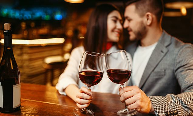 Young Adults Diverting Their Minds For Drinking During Dating