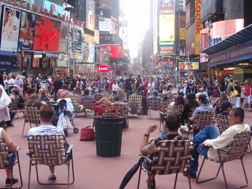 donate sofa in nyc elmo flip open slumber the 39new 39 times square public space as suburban mall and