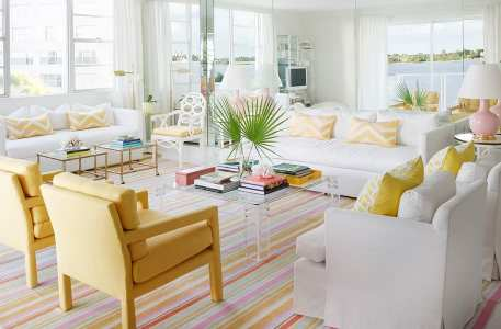 coastal glam decor