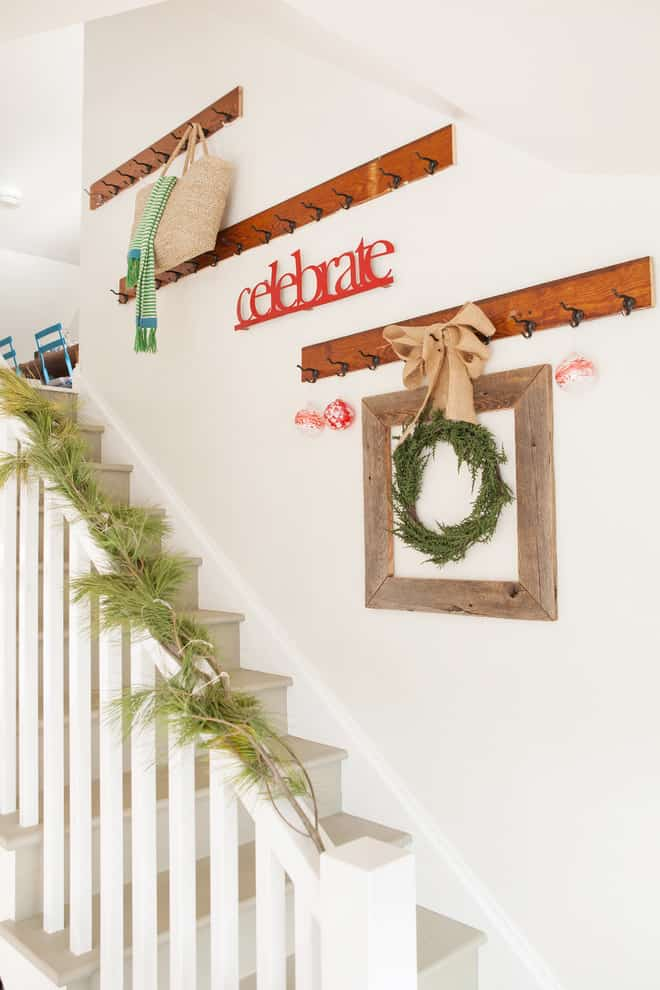 shabby chic style staircase