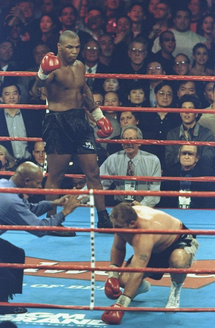 mike tyson fight record