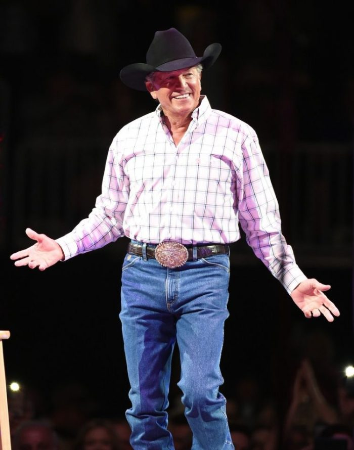 george strait birthday