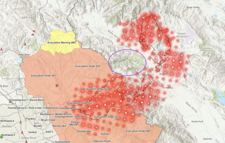 Napa and Sonoma Burn Again. Horribly.