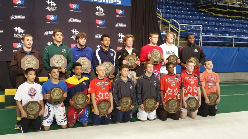 2014 Fargo Champions - Trey Meyer, top row second from left