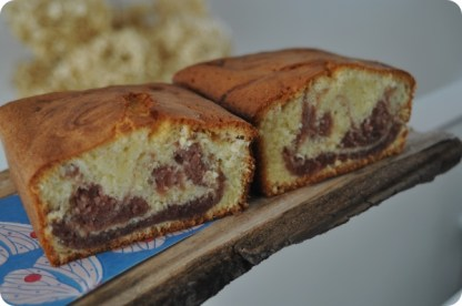 Strawberry Marble Cake