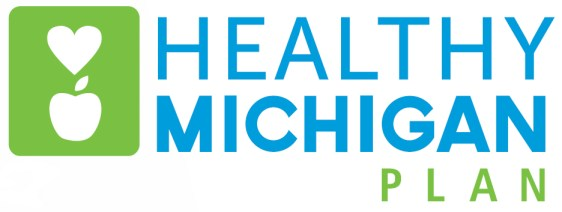 Healthy Michigan Plan Logo- Color