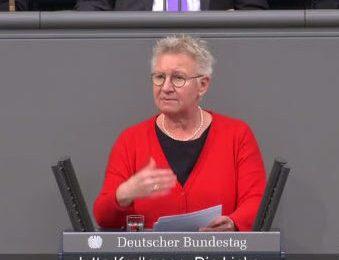 I-SEC Thema im Deutschen Bundestag