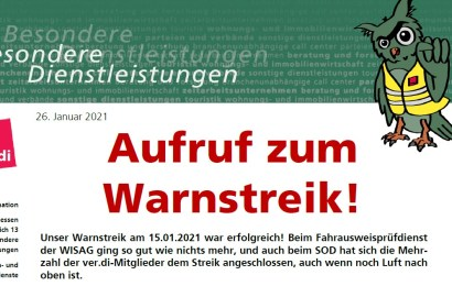 Streikaufruf 29.01.2021