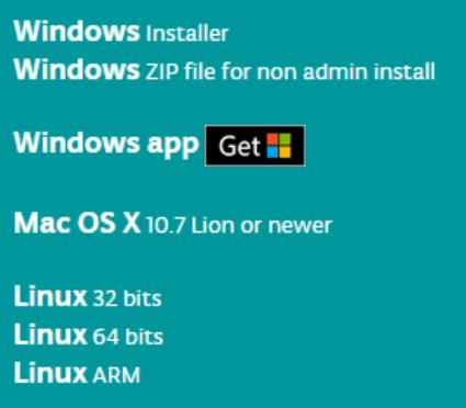 versi software arduino