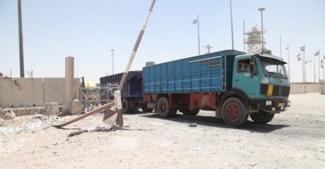 مسؤول محلي للمربد: تراجع كبير بواردات منفذ زرباطية بسبب اتفاقية الأردن