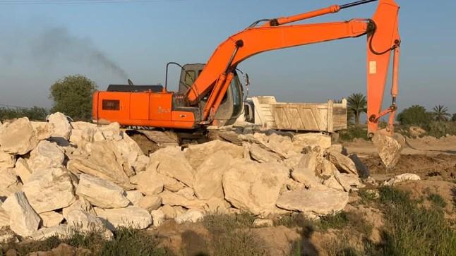 لمواجهة السيول..الصناعة توجه بتجهيز واسط بمادة حجر الكلس لتدعيم سواتر الأنهر