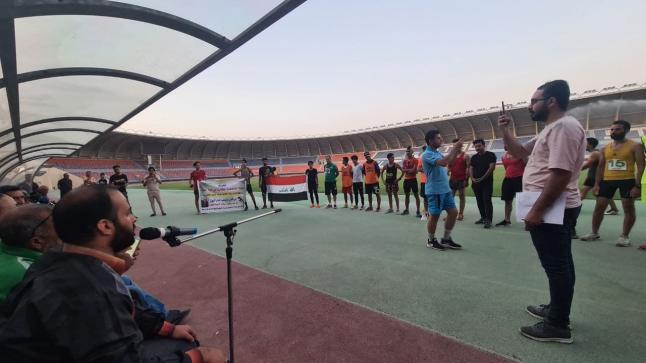 كلية العلوم في جامعة واسط تنظم ركضة نصف ماراثون الدكتور فيصل الوائلي