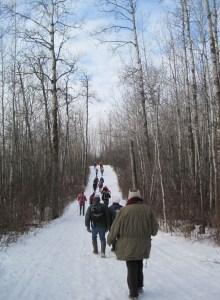 Blackfoot Staging Area hikers