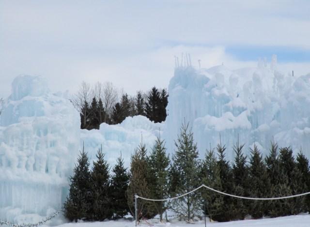 Hawrelak Park ice castle